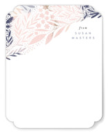 This is a blue mothers day gifts stationery by Alethea and Ruth called Scattered Florals with standard printing on signature in 4.25x5.5.