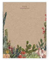 This is a brown mothers day gifts stationery by Susan Moyal called Desert Notes with standard printing on signature.