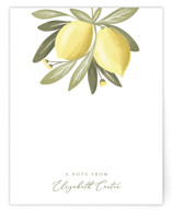 This is a green mothers day gifts stationery by Joanna Griffin called Lemon Drop with standard printing on signature.