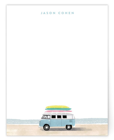 surf van Personalized Stationery