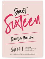 Sweet and Sassy Sixteen