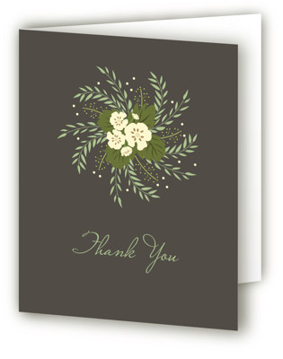 Love in a Spiral Bridal Shower Thank You Cards