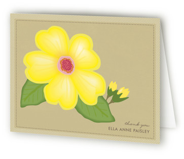Blossoming Bride Bridal Shower Thank You Cards