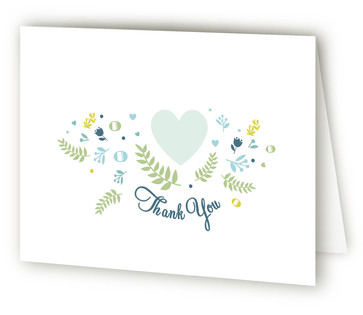 Love Bird Bridal Shower Thank You Cards