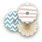 Holiday Bling Wine Glass Tags
