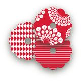 Patterned Floral Kraft
