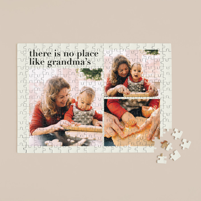 """""""Everlasting Cheer"""" - Funny 252 Piece Custom Puzzle in Evergreen by Aspacia Kusulas."""