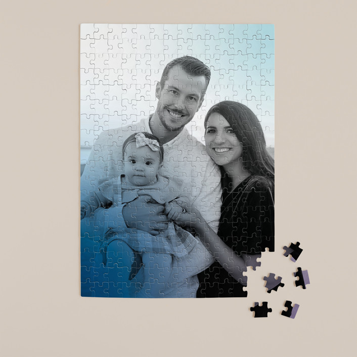 """""""Simple Hint"""" - 252 Piece Custom Puzzle in Lavender by Simona Camp."""