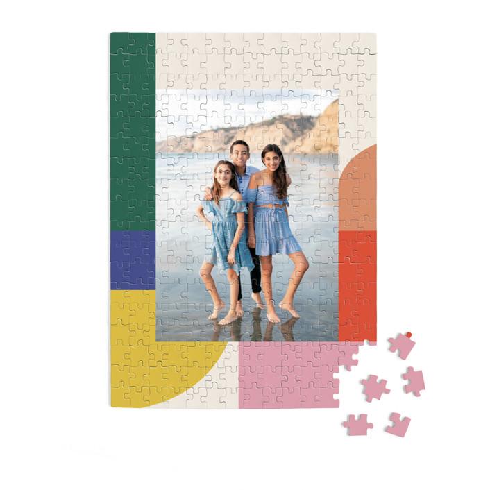 Rainbow Line 252 Piece Custom Puzzle