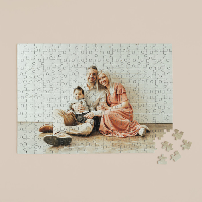 """The Big Picture"" - 252 Piece Custom Puzzle in Cotton by Minted Custom."