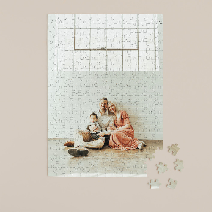 """""""The Big Picture"""" - 252 Piece Custom Puzzle in Cotton by Minted Custom."""