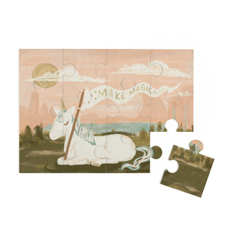 This is a pink puzzle by Angel Walker called Make Much Magic in standard.