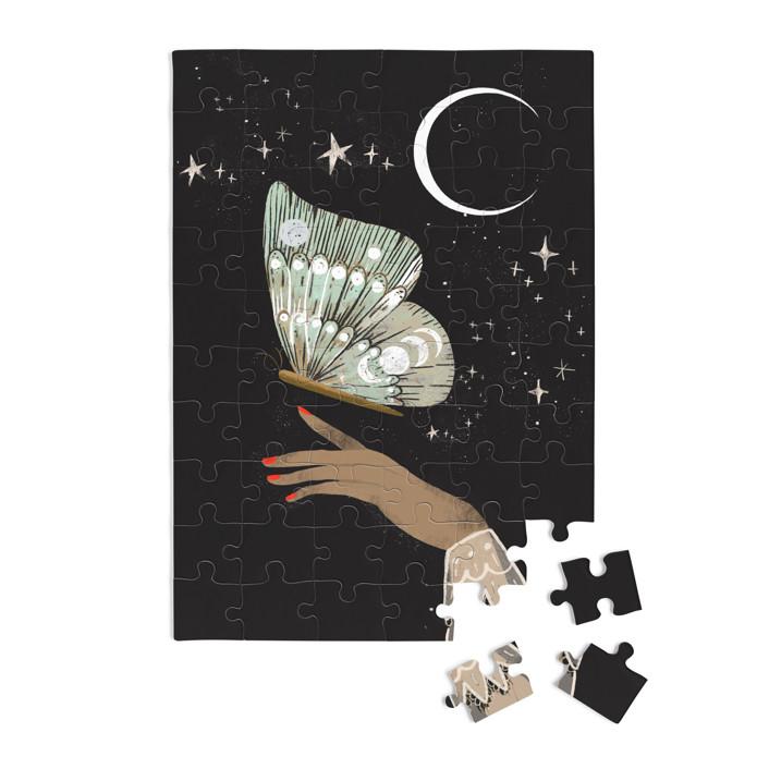 Hand Moth 60 Piece Art Puzzle