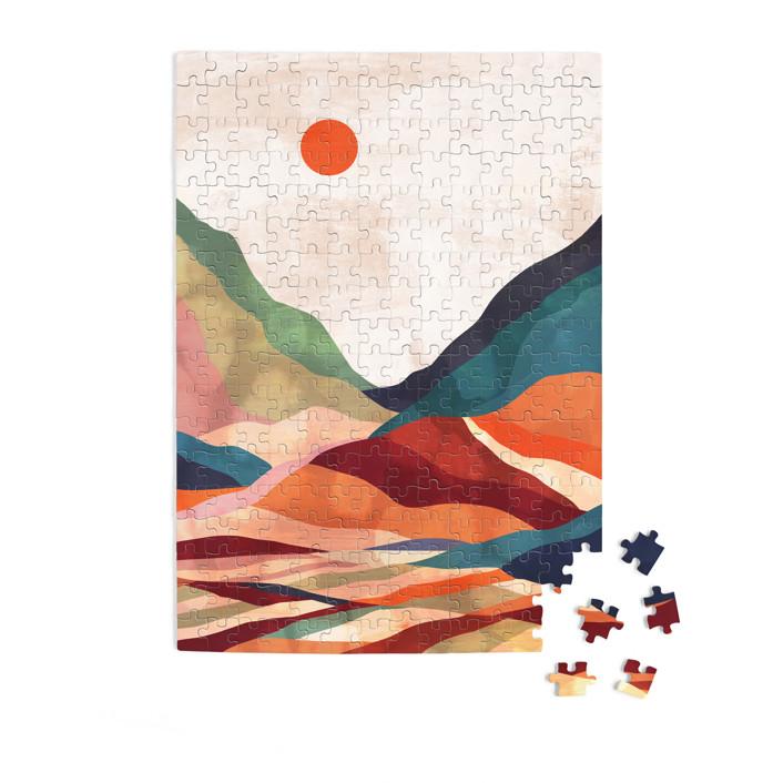 Autumn landscape 252 Piece Art Puzzle