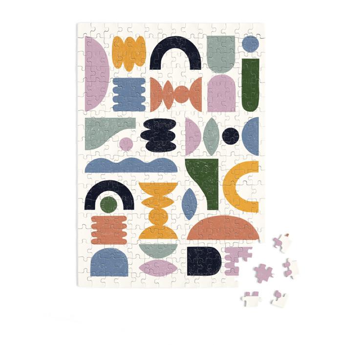 Mid-century 252 Piece Art Puzzle