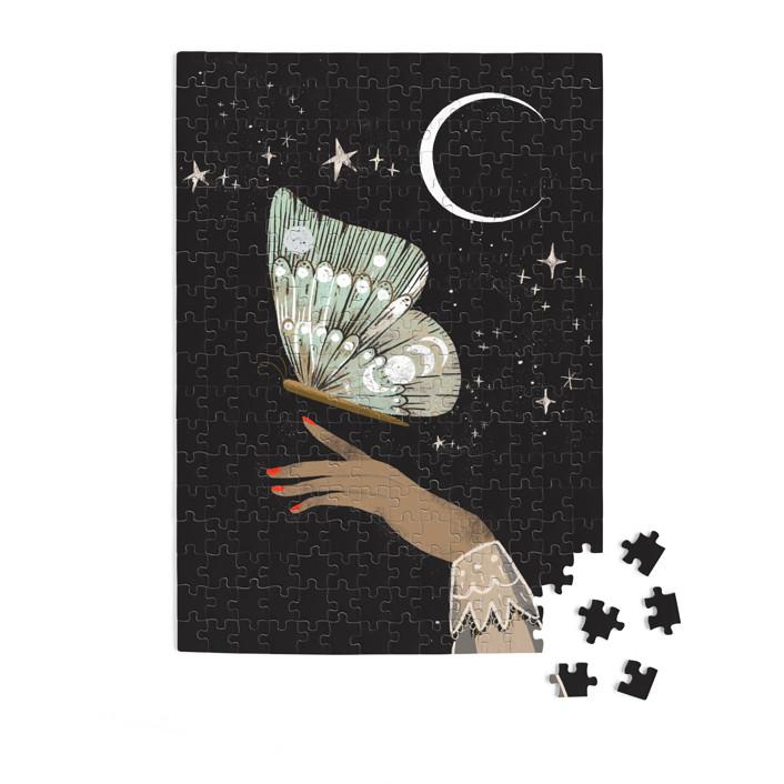 Hand Moth 252 Piece Art Puzzle