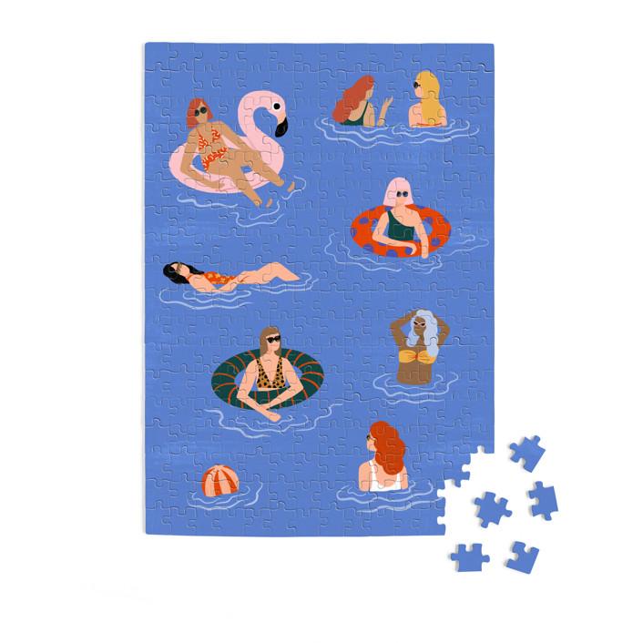 Pool Party 252 Piece Art Puzzle