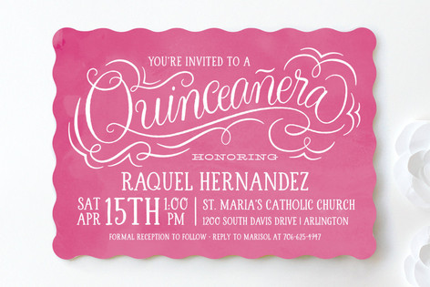quincenera invitations