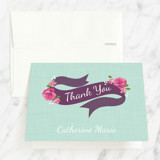 Quinceañera Thank You Cards