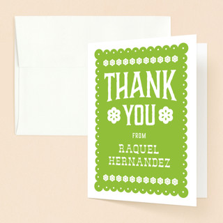 Fiesta De Quinceanera Quinceanera Thank You Card Minted