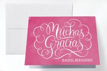 Quinceañera Thank You Cards