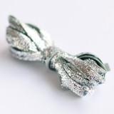 Silver Glitter Velvet
