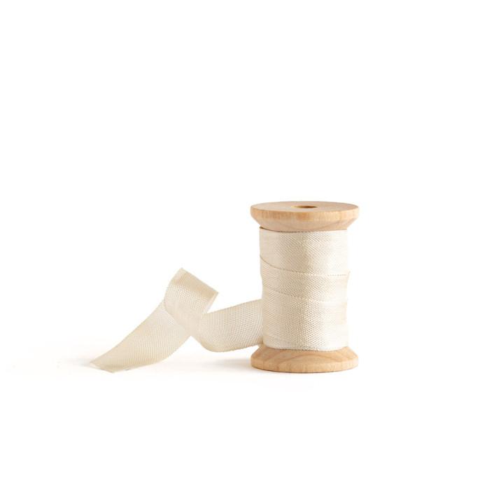 Ecru Shimmer Ribbon