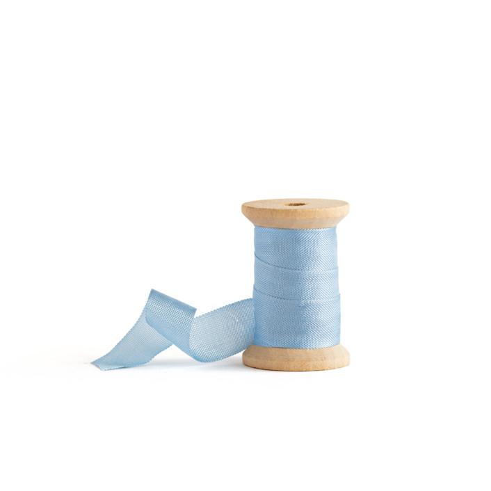 Sky Blue Shimmer Ribbon