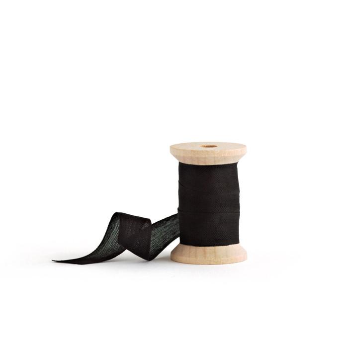 Black Shimmer Ribbon