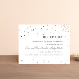 Foil-Pressed Reception Cards