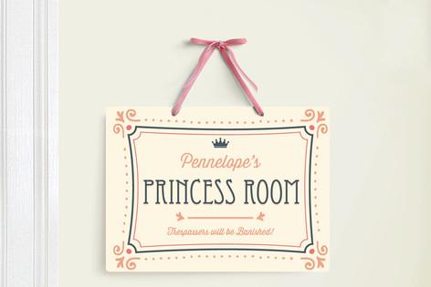 Princess Suite Room Decor Signs