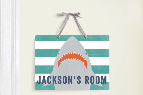 Shark Bait Room Decor Signs