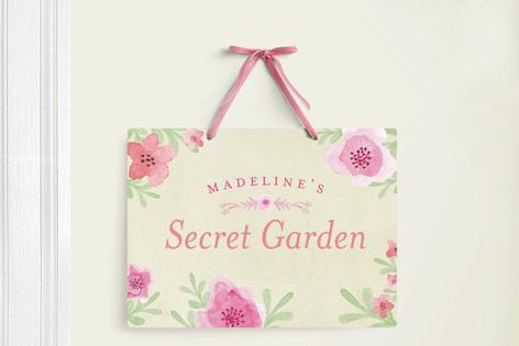 My Secret Garden Room Decor Signs