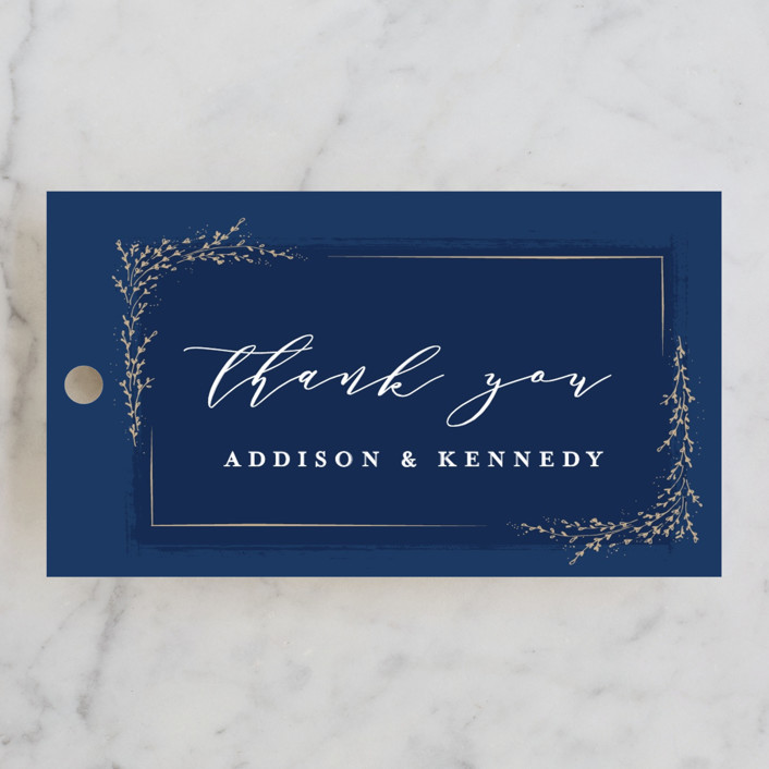 """""""positano"""" - Rehearsal Dinner Favor Tags in Champagne by chocomocacino."""