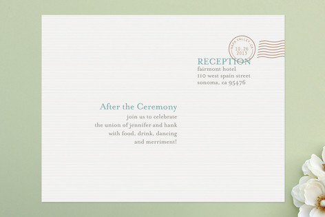 The Seasonal Send-Off Reception Cards