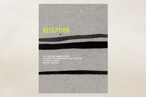 Artist's Frame Reception Cards