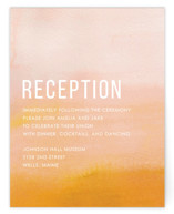 Ombre Reception Cards