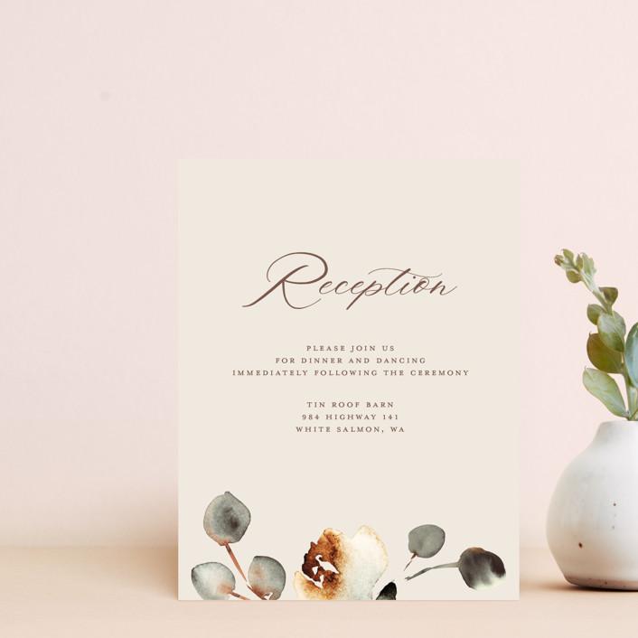 """Bella Mia"" - Reception Cards in Autumn by Petra Kern."