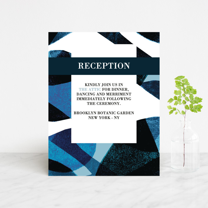 """Drops"" - Reception Cards in Sea by Bethania Lima."