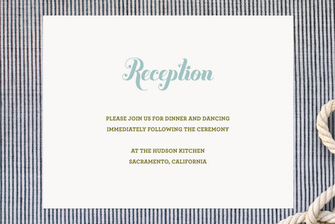 Buttery Reception Cards