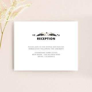 Chalkboard Reception Cards
