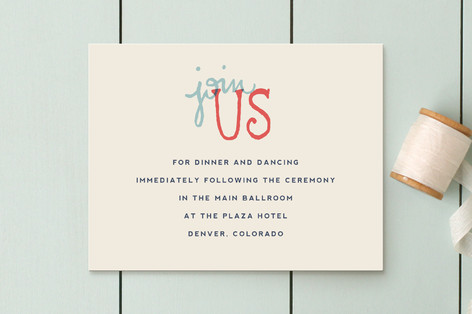 Celebration of Love Reception Cards