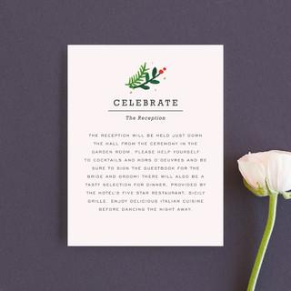 Simple Flora Reception Cards