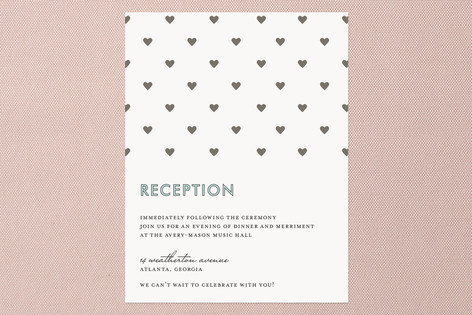 float + love lockdown Reception Cards