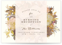 Floral Feast Reception Cards
