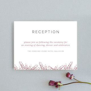 Lupines Reception Cards