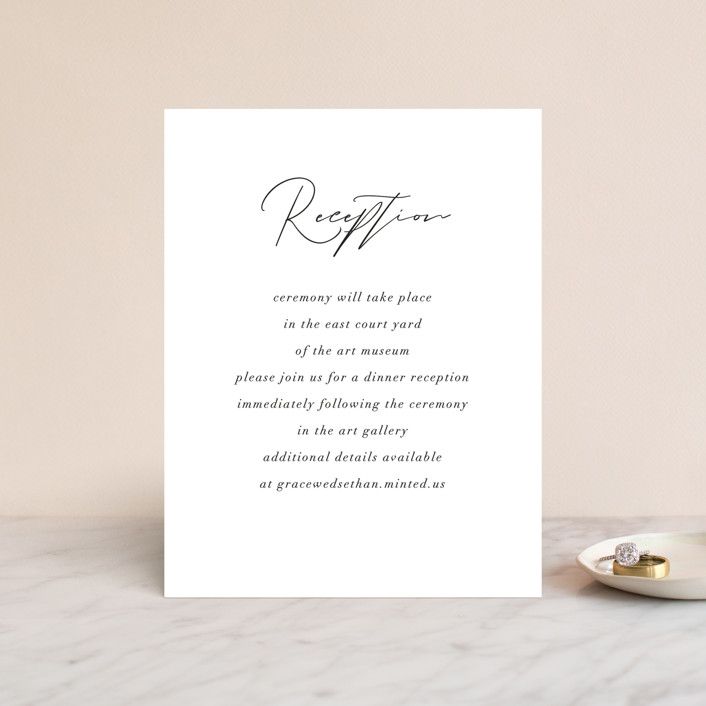 """""""first dance"""" - Reception Cards in Champagne by Kasia Labocki."""
