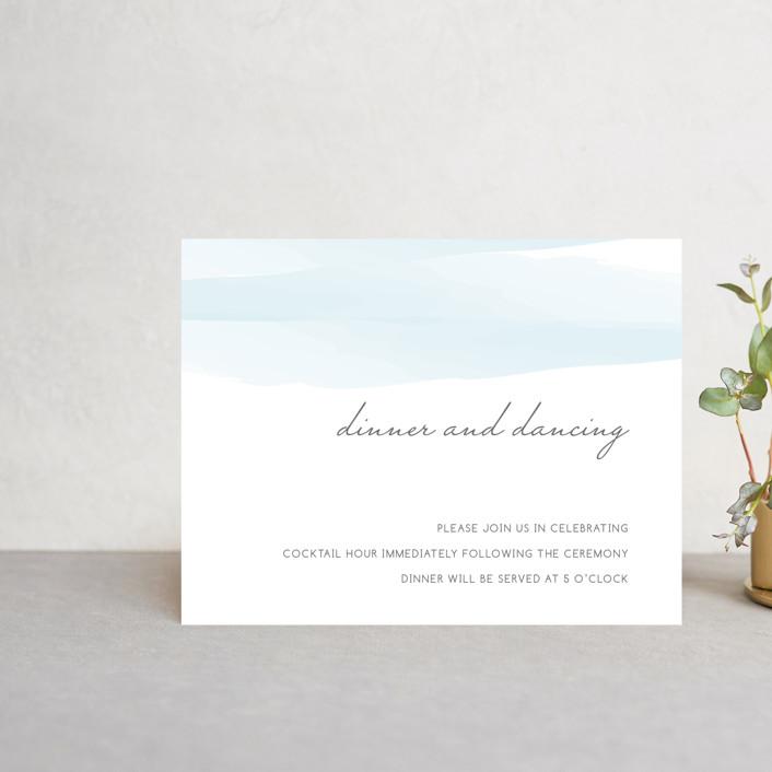 """Set Sail"" - Reception Cards in Mediterranean by Sarah Brown."
