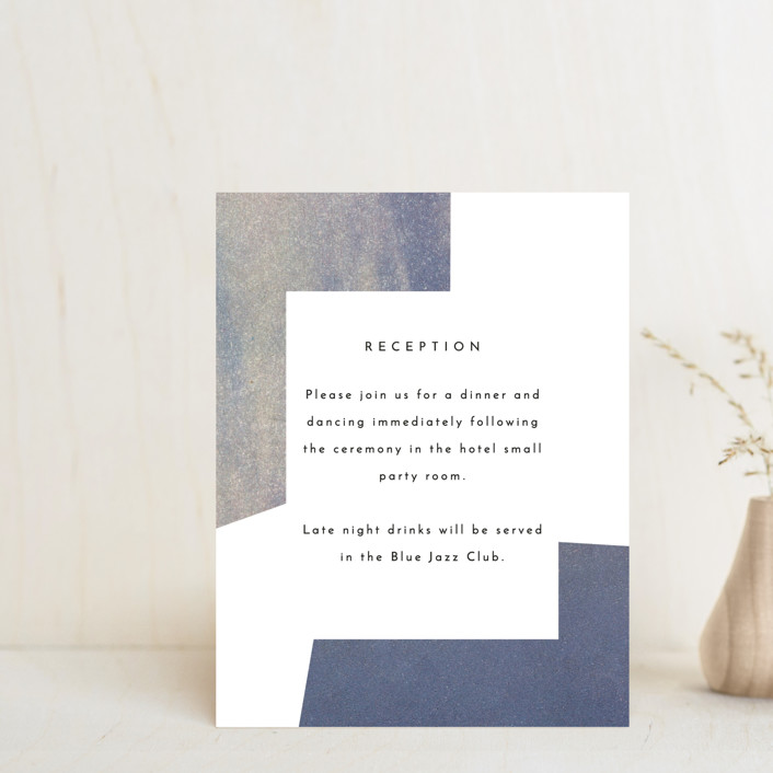 """sky poetry"" - Modern Reception Cards in Daylight by Sumak Studio."