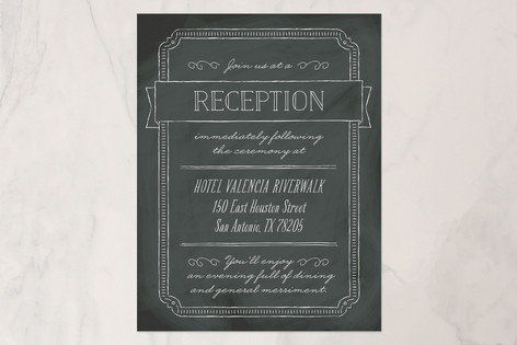 Drawn to Each Other Reception Cards